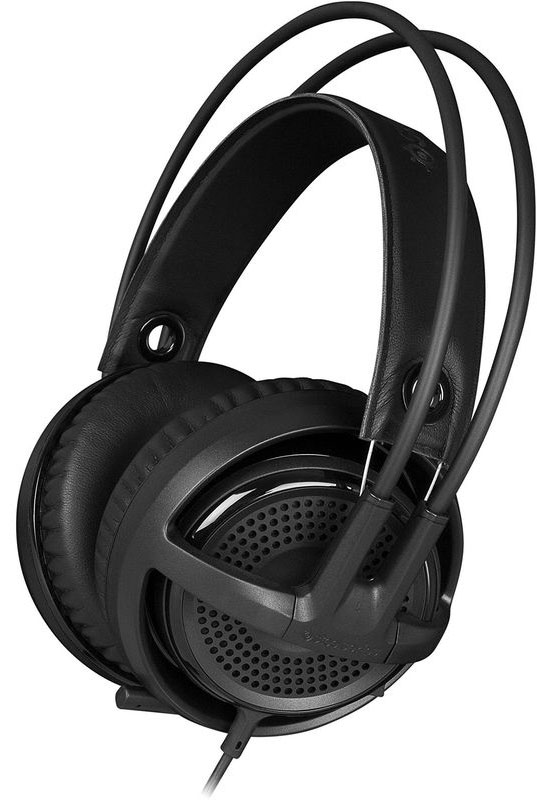 Steelseries Siberia P300, Black игровые наушники steelseries siberia 800