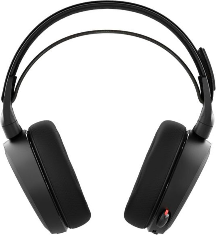 Steelseries Arctis 7, Black игровые наушники61463Компания SteelSeries снова не разочаровала. Ее очередная новинка - геймерские наушники SteelSeries Arctis 7, впечатляет воображение своимиакустическими возможностями. До них никто ничего подобного не делал, и в этом заключается основное преимущество данного устройства. Главное достоинство SteelSeries Arctis 7 - это семиканальное звучание. Технология объемного звука здесь была полностью переработана. ТеперьDolby Surround не зависит от специфики источника акустического сигнала. Гарнитура оснащена 40-миллиметровыми динамиками на неодимовыхмагнитах надлежащего качества.Передача звука поистине завораживает. Ощущение трехмерности присутствует постоянно, стойкий эффект гарантируется безупречнымвоспроизведением низких, средних и высоких частот. Динамические излучатели SteelSeries Arctis 7 функционируют в рабочем диапазоне от 20 до20 000 Гц - это с головой достаточно, чтобы погрузиться в невероятный мир кристально чистого и насыщенного аудио.Беспроводные наушники SteelSeries Arctis 7 Black обеспечивают надежную синхронизацию с персональным компьютером или любым другимподходящим оборудованием, без разрыва связи. Дальность приема передатчика составляет 12 метров. Полного заряда аккумуляторной батареибез проблем хватает примерно на 15 часов активной эксплуатации.Само собой, что наушники SteelSeries Arctis 7 обладают стильным дизайном, как и полагается продукту со столь громким именем. Заказать ихрекомендуется не только опытным или начинающим киберспортсменам, но и обычным пользователям, ценящих роскошную акустику.