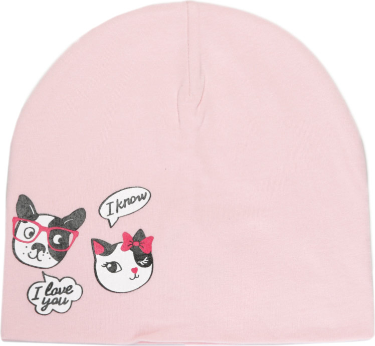 Шапка для девочки Acoola Marigold, цвет: светло-розовый. 20236400050_3400. Размер M (53)20236400050_3400Детская шапка Acoola станет стильным дополнением к детскому гардеробу. Она выполнена из натурального хлопка, приятная на ощупь, идеально прилегает к голове.В такой шапке ребенок будет чувствовать себя уютно, комфортно и всегда будет в центре внимания!