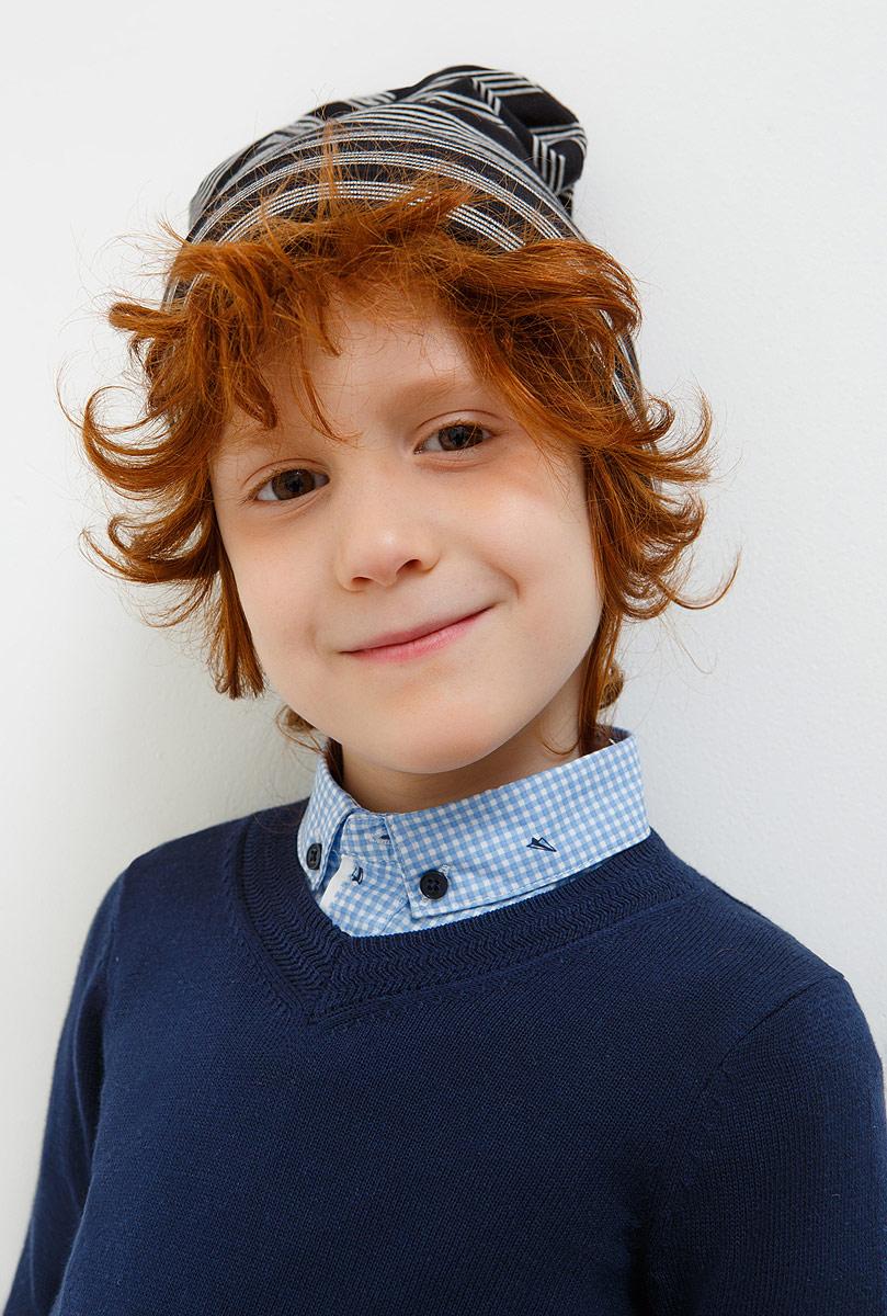 Шапка для мальчика Acoola Mallow, цвет: темно-серый. 20136400043_2000. Размер XS (50)20136400043_2000Детская шапка Acoola станет стильным дополнением к детскому гардеробу. Она выполнена из натурального хлопка, приятная на ощупь, идеально прилегает к голове.В такой шапке ребенок будет чувствовать себя уютно, комфортно и всегда будет в центре внимания!