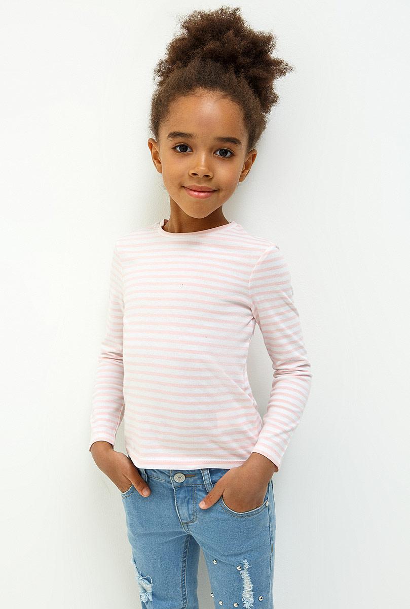Джемпер для девочки Acoola Agata, цвет: светло-розовый. 20220100155_3400. Размер 12220220100155_3400Джемпер для девочки Acoola изготовлен из натурального хлопка. Модель выполнена с длинными рукавами и круглым воротником.