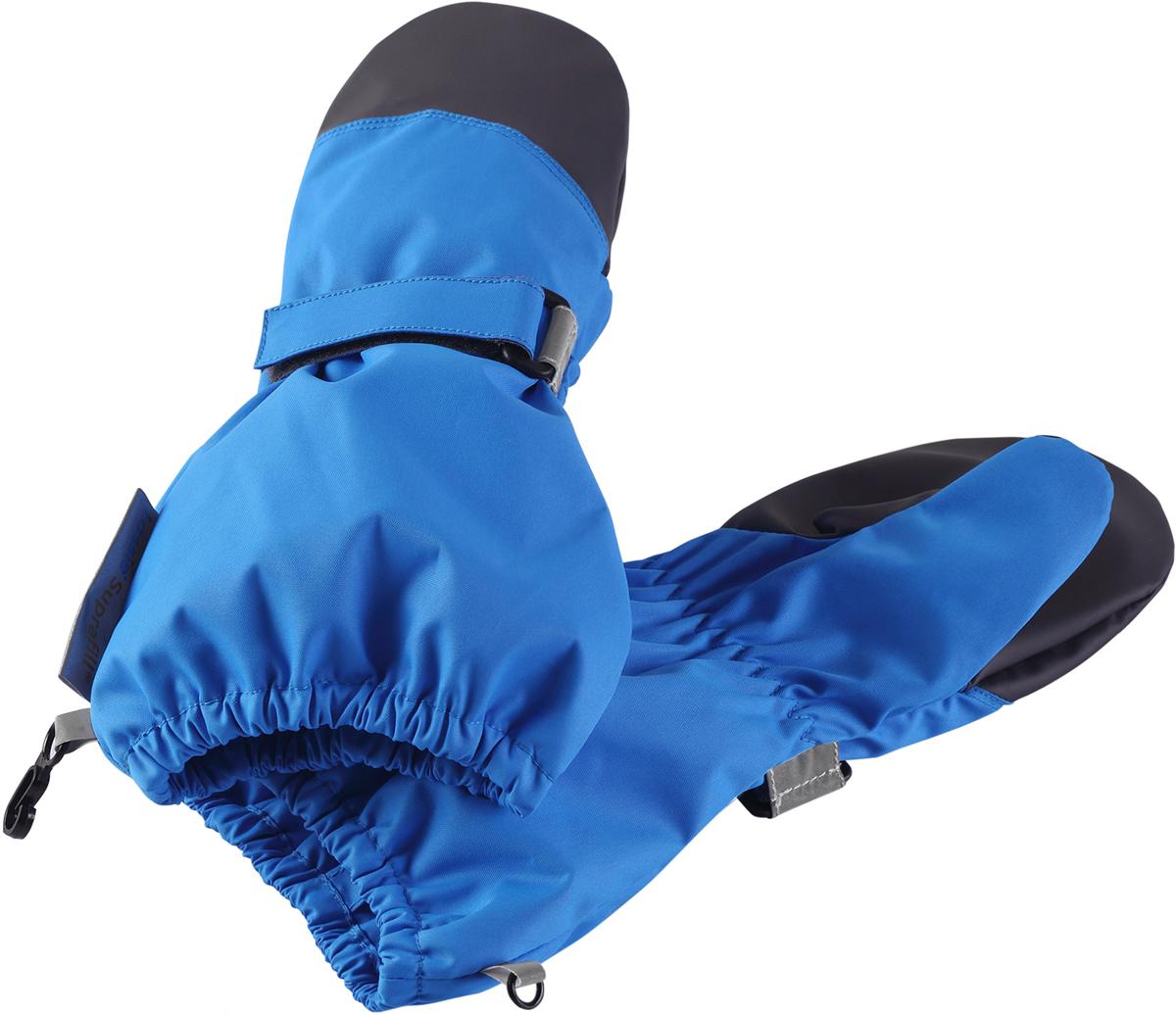 Варежки детские Lassie, цвет: синий. 7277236610. Размер 27277236610Варежки Lassietec изготовлены из очень прочного, водонепроницаемого, ветронепроницаемого и дышащего материала. Варежки снабжены водонепроницаемой мембраной, которая обеспечит вашему ребенку долгие и сухие прогулки на свежем воздухе. Трикотажная подкладка из полиэстера с начесом очень мягкая и приятная на ощупь. Усиления на ладони и большом пальце не пропускают влагу и обеспечивают хороший захват.
