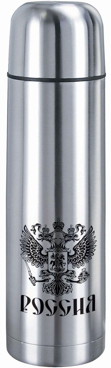 """Термос """"Bekker"""", изготовленный из высококачественной нержавеющей стали. Двойные стенки обеспечивают долгое сохранение температуры напитка. Подходит для горячих и холодных  напитков. Благодаря вакуумной кнопке внутри создается абсолютная герметичность, что предотвращает проливание напитков. Крышка плотно закручивается. Верхнюю крышку можно использовать в качестве чаши для напитка.  Стильный функциональный термос будет незаменим в дороге, на пикнике. Его можно взять с собой куда угодно, и вы всегда сможете наслаждаться горячим домашним напитком."""