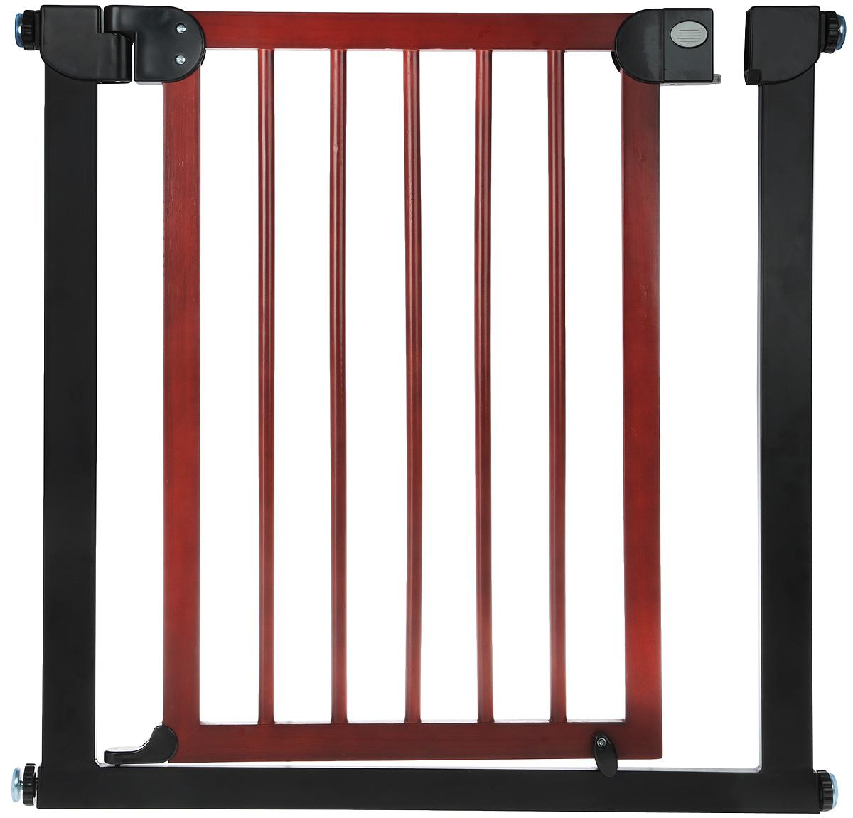 Baby Safe Барьер-калитка для дверного проема 75-85 см цвет черный -  Блокирующие и защитные устройства