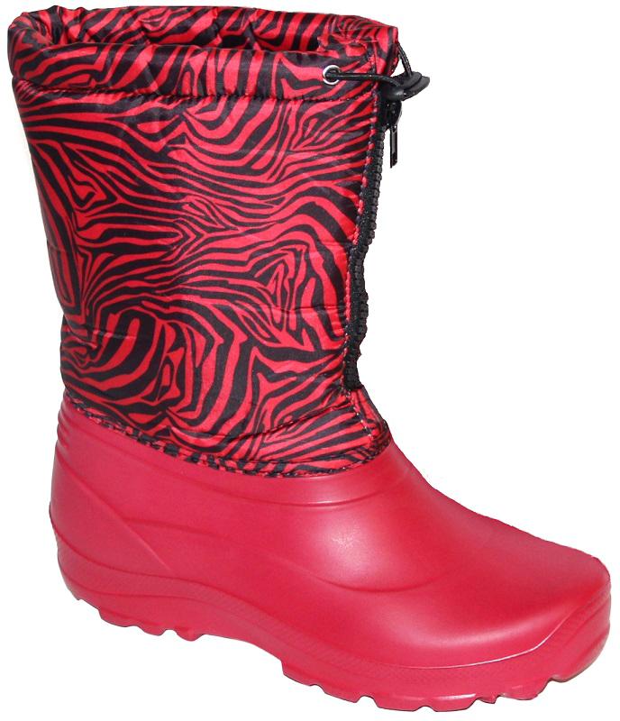 Норды зимние женские Дарина Герда, цвет: красный. Размер 40-41Д 406/40-41красныйНорды женские Герда .Низ норда выполнен из легкого и гибкого материала ЭВА. Верх выполнен из водонепроницаемой ткани. Теплый и мягкий утеплитель Villi отлично дополняет данную модель. Герда идеально подходит на сезон осень-весна, а также может использоваться в зимнее время до температуры -20С .Вид литья: цельнолитьевое.Высота 25 см.Вес 0,5 кг.Температурный режим: -20.Сырье продукта: ЭВА.Материал подошвы: ЭВА.Cостав текстильного элемента: фиксатор, люверсы, шнур-резина.Название ткани: Щксфорд 210 + ППУ.Свойства ткани Оксфорд (Oxford) – это прочная ткань из синтетических волокон (нейлона или полиэстера) определенной структуры с нанесенным полиуретановым покрытием (PU или PVC). Это покрытие обеспечивает водонепроницаемость ткани оксфорд и препятствует накоплению грязи между волокнами. Рулонный пенополиуретан (ППУ) широко используется в обувной промышленности.Не съёмный.Кол-во слоев: 3.Вид ткани: ворсин + стелька ЭВА.Состав ткани однослойное ворсованное полотно из полиэстера. Поверхностная плотность 400 г/м2. Используется как альтернатива искусственному меху.Швы 0,5-0,7.Технология шва: стачной шов с открытым срезом, стачной шов с обметанным срезом, окантовка верхнего среза тесьмой.Сезон: зима.