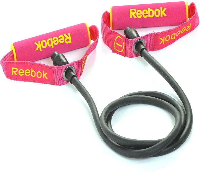Эспандер трубчатый Reebok №1, слабое сопротивлениеRATB-11030MGТренируйте любую группу мышц легко и эффективно с трубчатым эспандером Reebok. Удобные рукоятки; эспандер позволяет одновременно задействовать различные группы мышц. Легкий и емкий элемент тренировочного оборудования, предлагающий множество возможных упражнений для всего тела, подходит для домашних тренировок. Трубчатый эспандер для женщин также доступен в среднем и слабом сопротивлении для тренировок разной интенсивности. Укрепляет и развивает различные группы мышц.Подходит для всего тела. Слабое сопротивление, мягкие ручки.