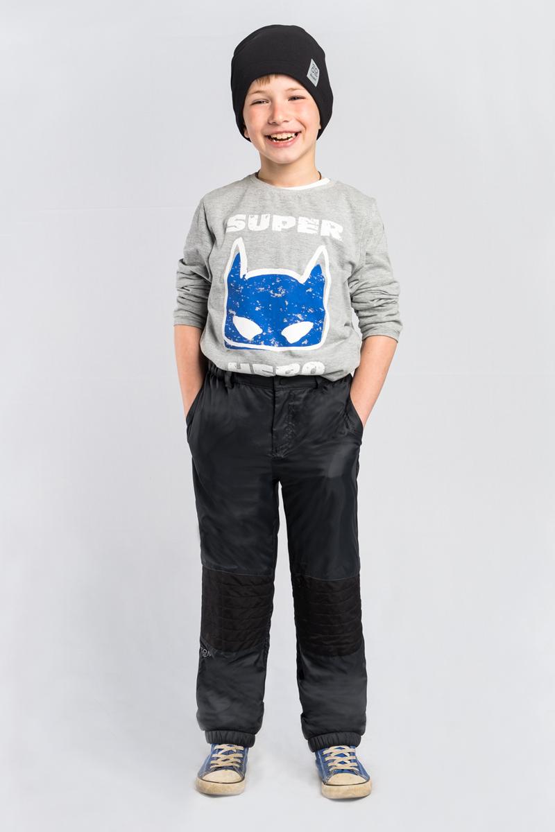 Брюки для мальчика Boom!, цвет: черный. 80035_BOB. Размер 13480035_BOBСтеганные брюки для мальчика Boom! выполнены из высококачественного материала. Модель на флисе, с оригинальной стёжкой в зоне коленей и резинкой по низу. По бокам дополнены боковыми карманами.