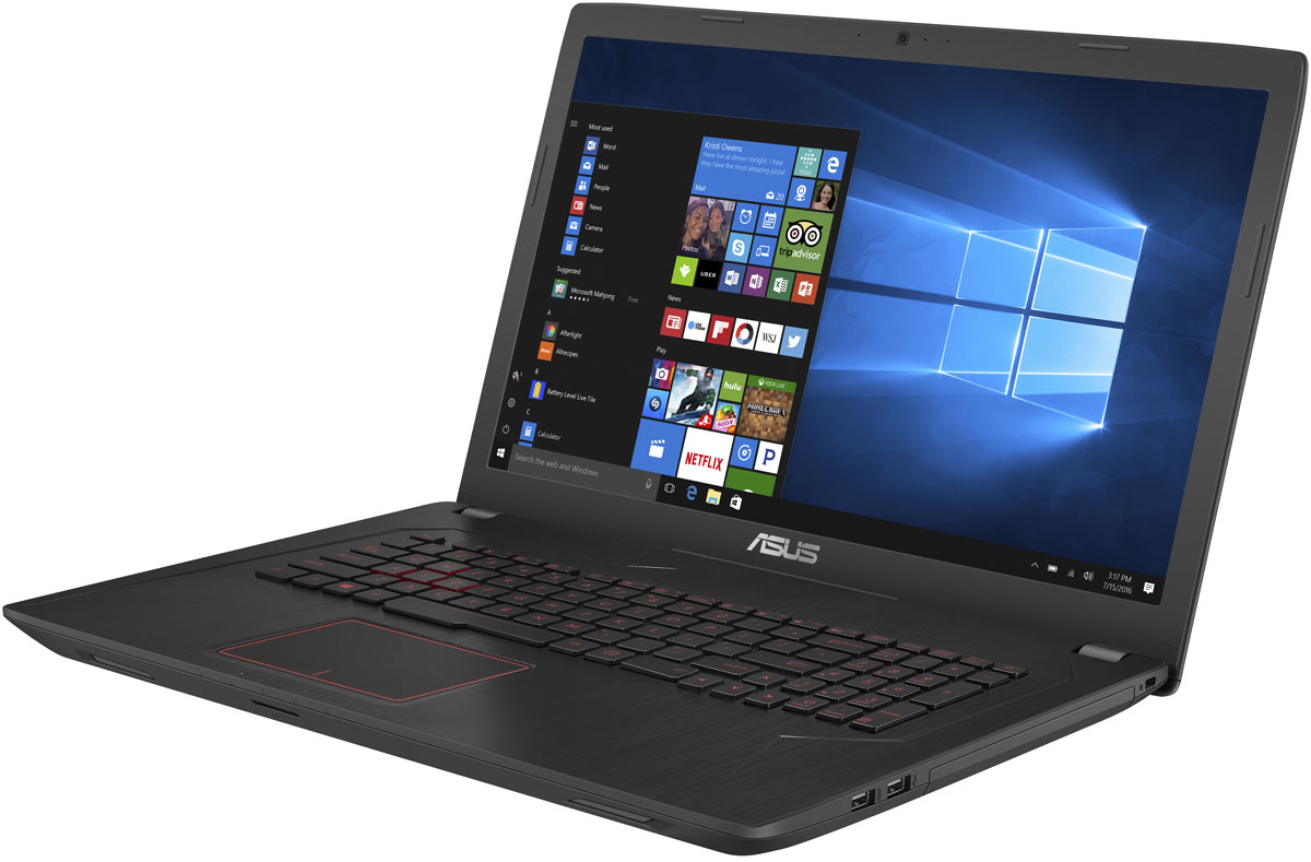 ASUS FX753VD (FX753VD-GC104T) - Ноутбуки