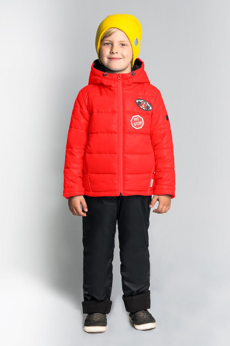 Комплект верхней одежды для мальчика Boom!, цвет: красный. 80014_BOB. Размер 116 кроссовки для мальчика zenden цвет красный 219 33bg 043tt размер 33