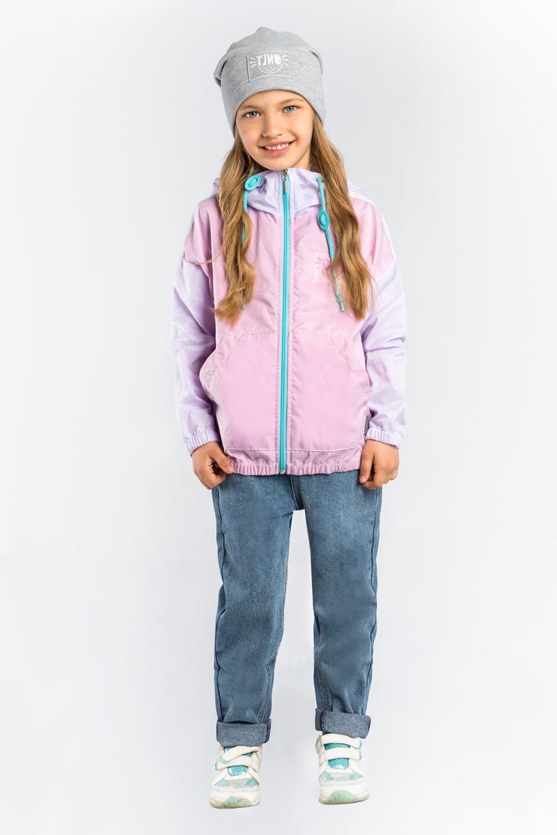 Куртка для девочки Boom!, цвет: сиреневый. 80022_BOG. Размер 11680022_BOG