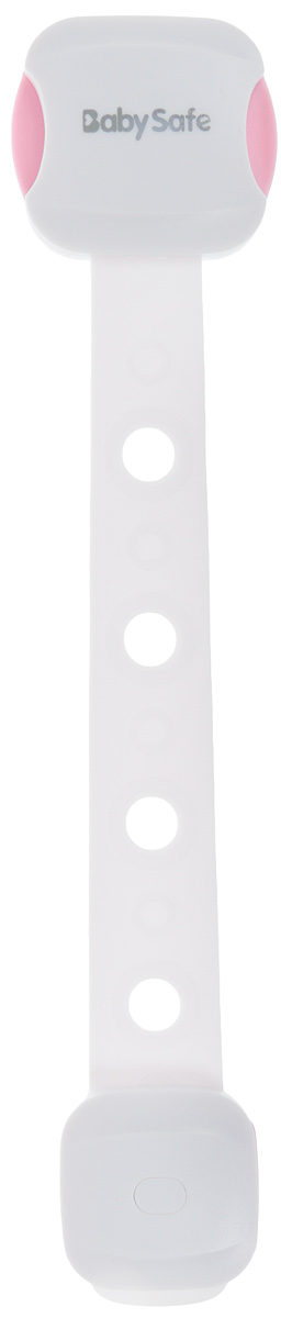 Baby Safe Замок защитный на холодильник и СВЧ цвет розовый защитный замок на холодильник clippasafe цвет белый