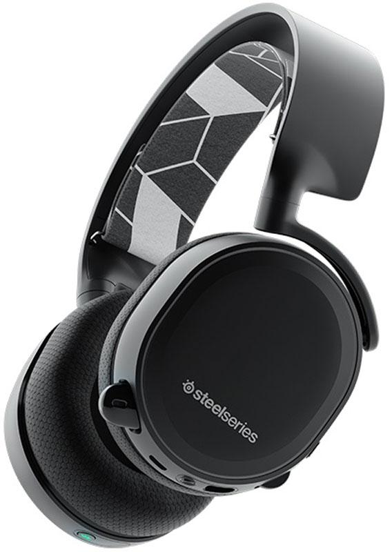 Steelseries Arctis 3 Bluetooth, Black игровые наушники61485SteelSeries Arctis 3 Bluetooth - идеальная гарнитура для игры. Вы можете подключить ее к любой платформе – PC, Mac, PlayStation, Xbox, Nintendo Switch, VR с помощью кабеля 3,5мм jack и по беспроводному подключению к мобильным устройствам.Двунаправленный микрофон ClearCast обеспечивает идеальное качество захвата вашего голоса без посторонних шумов. Для того, чтобы обеспечить лучшее качество вещание, микрофон ClearCast захватывает звук в широком диапазоне, делая звучание вашего голоса абсолютно естественным. Он устраняет все посторонние шумы лучше, чем любой другой игровой микрофон, без использования дополнительного ПО. Кристально-чистое звучание на всех платформах.Легкая подвесная конструкция оголовья, инновационный дизайн, материалы высшего качества делают Arctis самой комфортной игровой гарнитурой. Гарнитура Arctis дополнена амбушюрами AirWeave в спортивном стиле, которые сохранят ваши уши в прохладе и сухости.