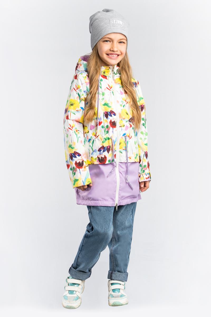 Плащ для девочки Boom!, цвет: фиолетовый. 80032_BOG. Размер 11680032_BOG