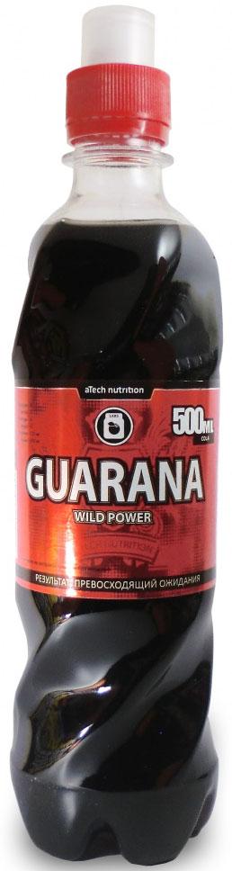 Энергетический напиток aTech Nutrition Guarana Wild Power, гуарана, 500 мл глютамин atech nutrition glutamine pure powder 100% 300 г