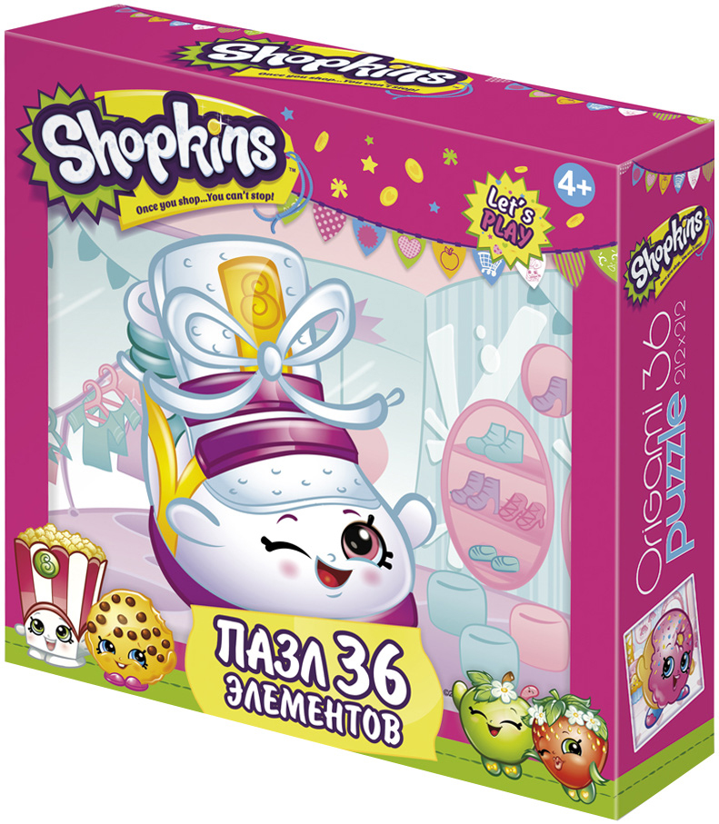 Shopkins Пазл для малышей Sneaky Wedge