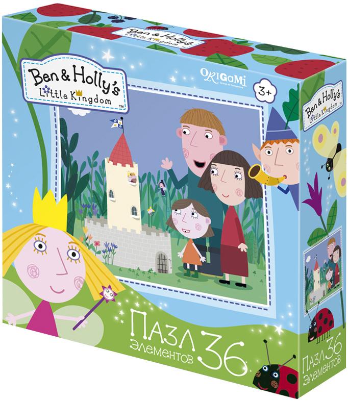 Ben&Holly Пазл для малышей Маленький замок пазл 4в1 в королевстве ben