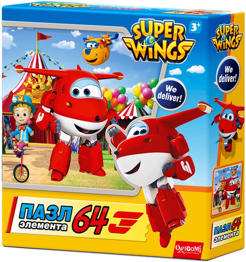 Super Wings Пазл для малышей Приключение в России