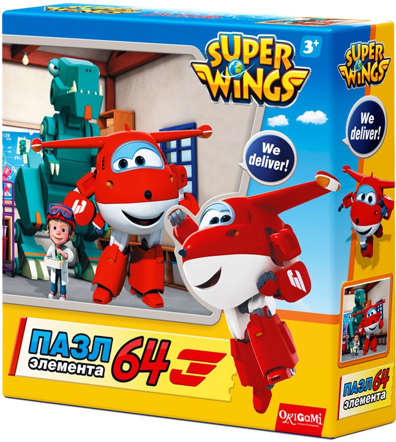 Super Wings Пазл для малышей Полет в Данию