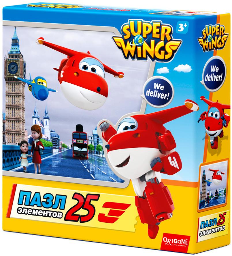 Super Wings Пазл для малышей Туманный Альбион