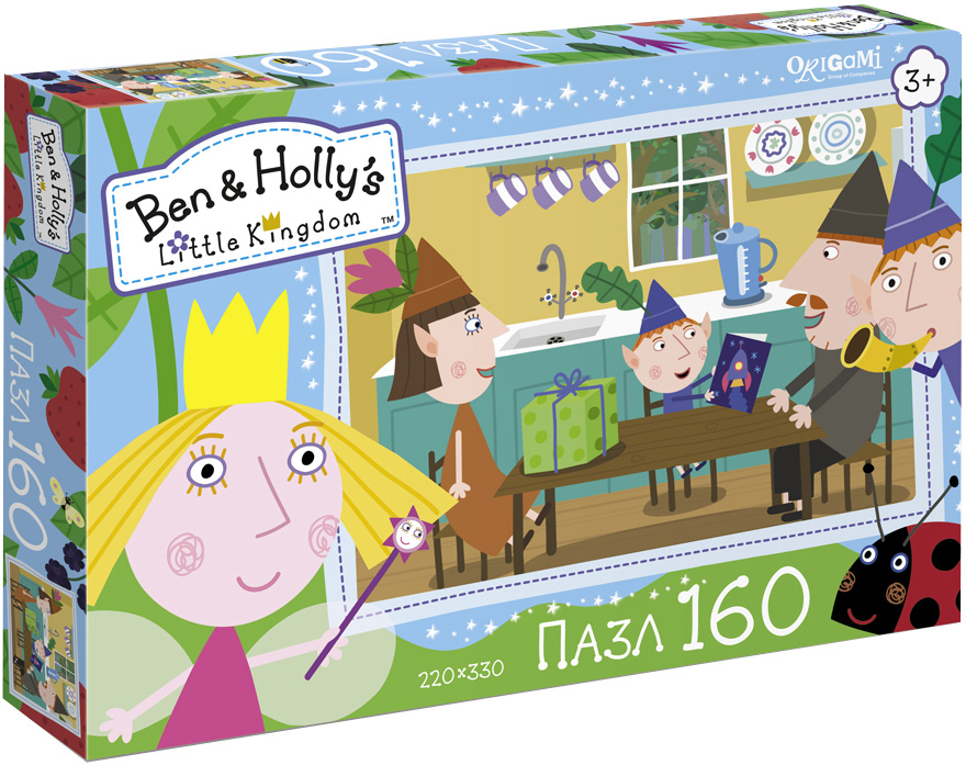 Ben&Holly Пазл День рождения Бена