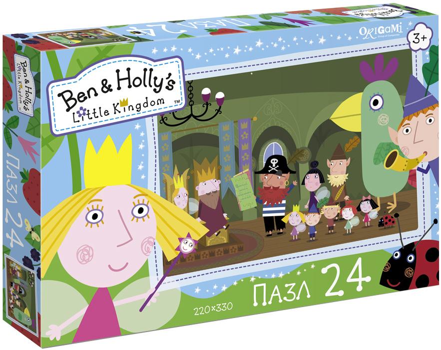 Ben&Holly Пазл для малышей На встречу с пиратом пазл 4в1 в королевстве ben
