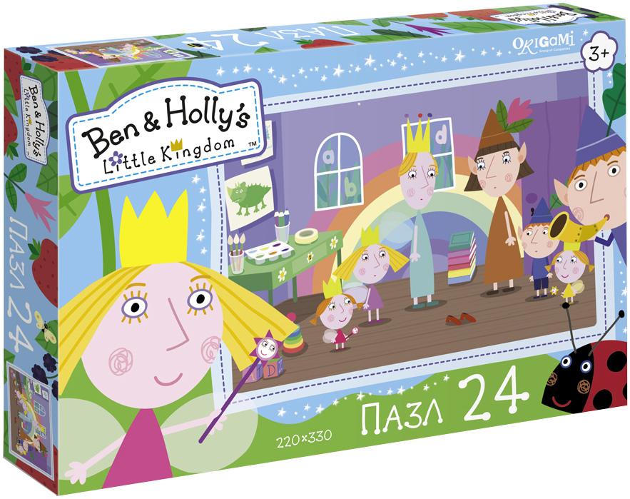 Ben&Holly Пазл для малышей Таинственное исчезновение пазл 4в1 в королевстве ben