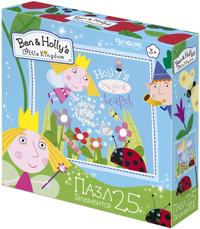 Ben&Holly Пазл для малышей Чаепитие у Холли пазл 4в1 в королевстве ben