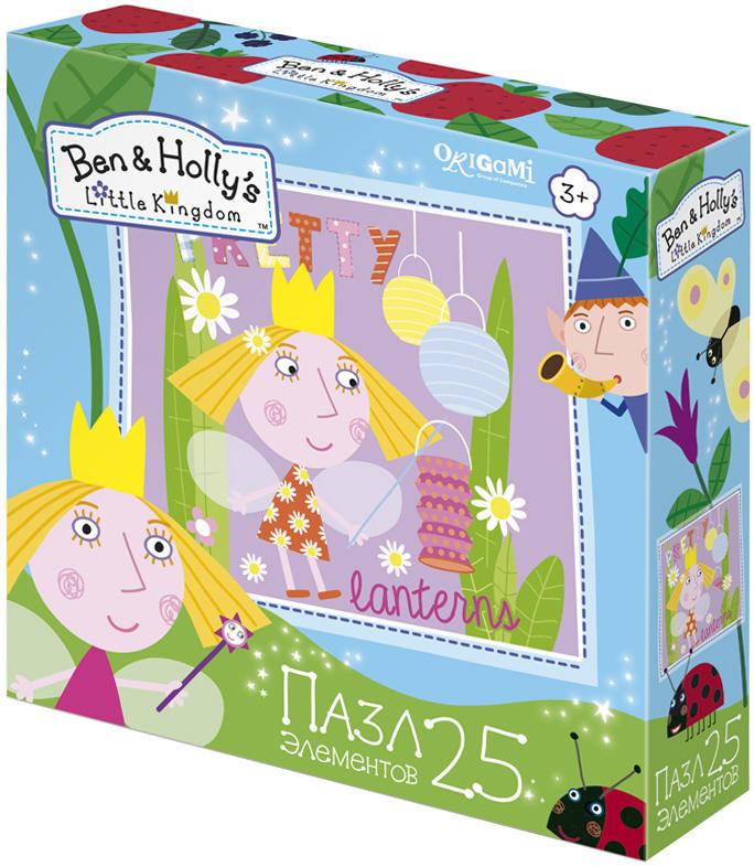 Ben&Holly Пазл для малышей Холли и фонарики пазл 4в1 в королевстве ben