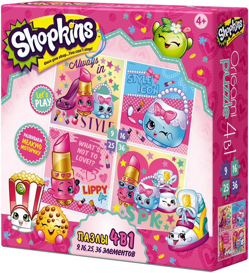 Shopkins Пазл для малышей Beauty 4 в 1 learning journey пазл для малышей озорные фигуры 4 в 1