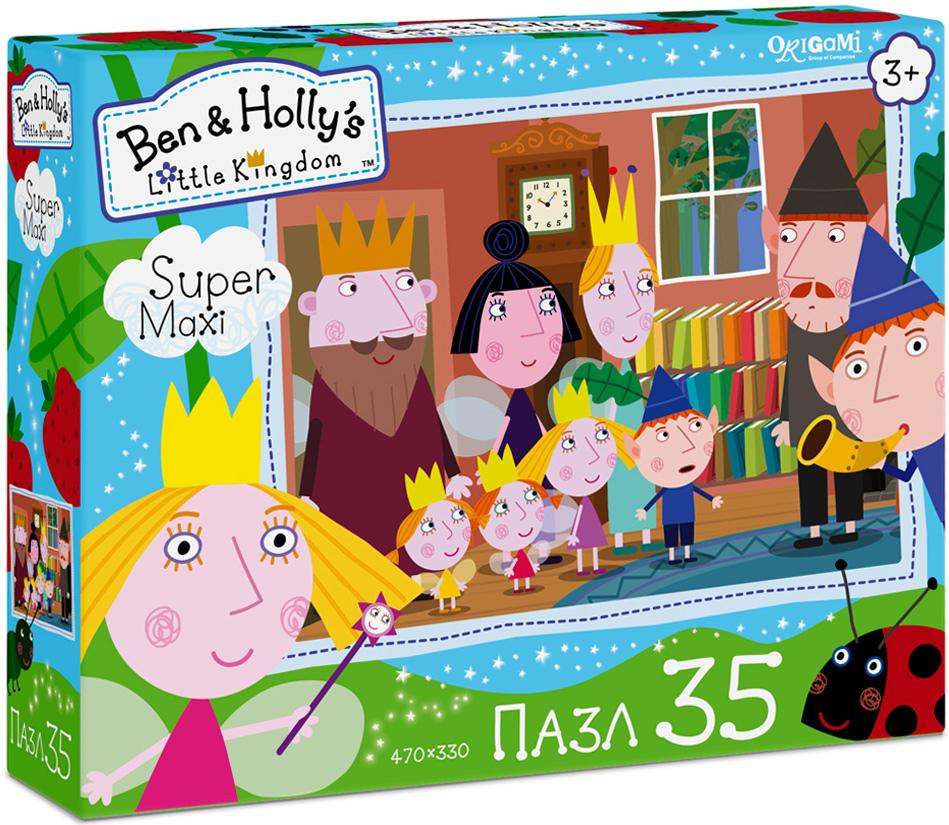 Ben&Holly Пазл для малышей Приглашение пазл 4в1 в королевстве ben