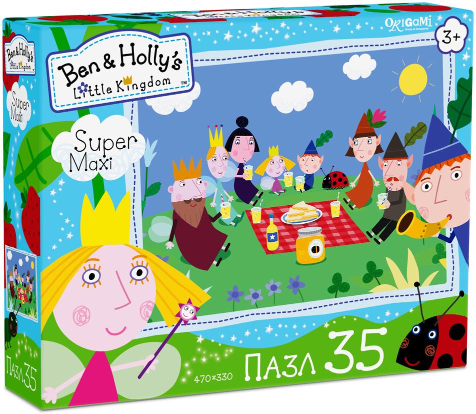 Ben&Holly Пазл для малышей Пикник пазл 4в1 в королевстве ben