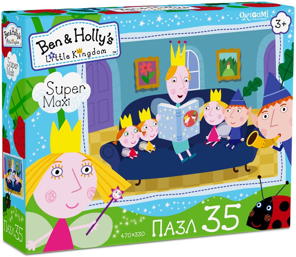 Ben&Holly Пазл для малышей Читаем сказки пазл 4в1 в королевстве ben