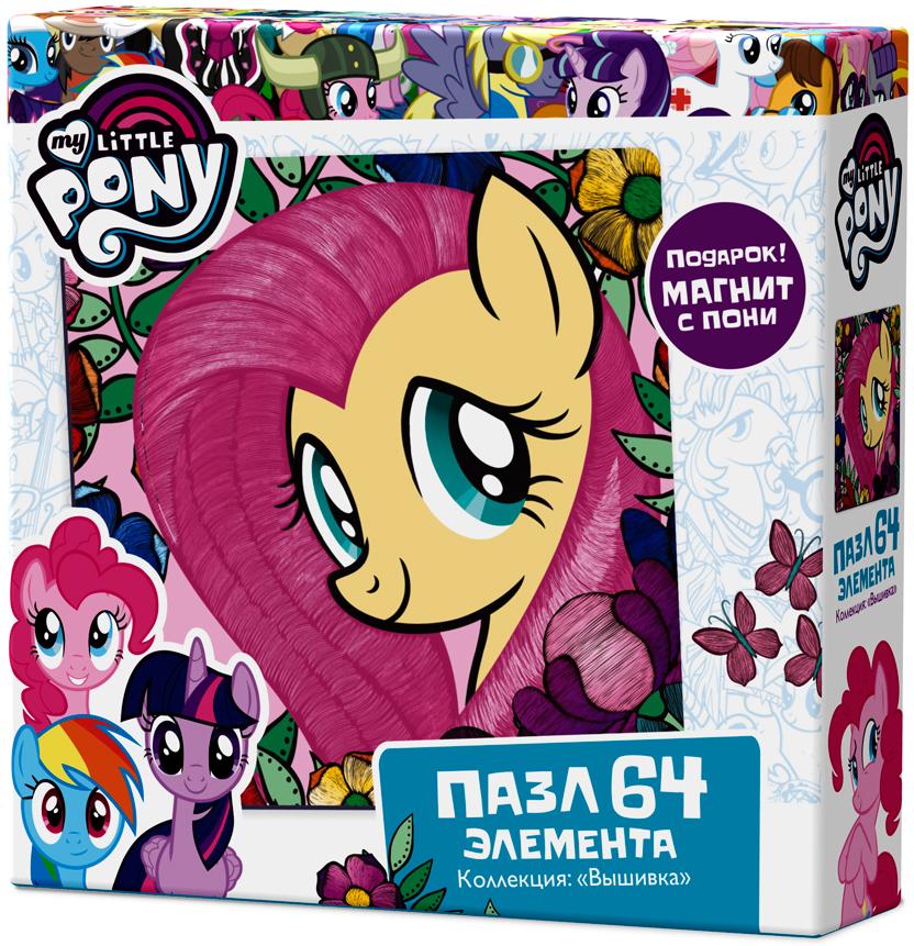 My Little Pony Пазл для малышей Флаттершай enchantimals пазл 64 магнитик фелисити лис и флик 03554