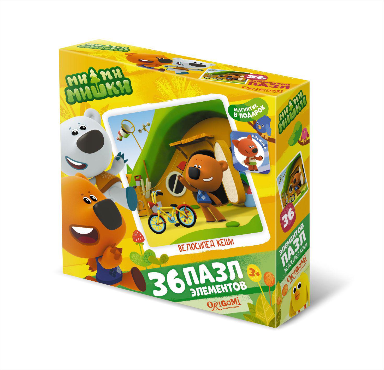 Ми-ми-мишки Пазл для малышей Велосипед Кеши