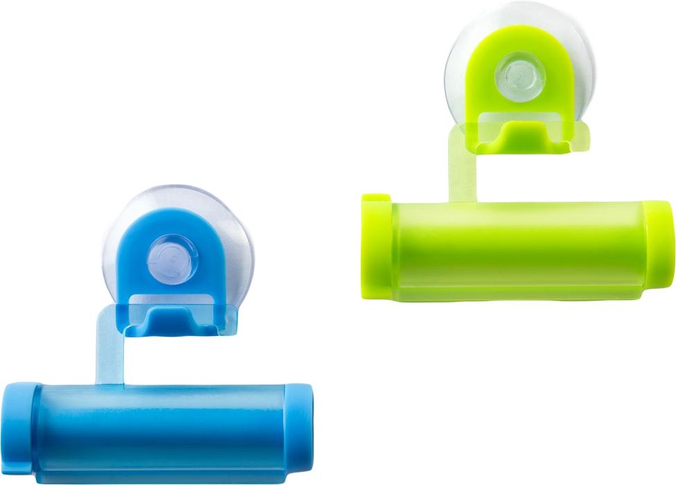 Набор прессов для тюбиков Ruges Роллер, 2 штV-9Драматичные истории про неправильное выдавливание тюбиков зубной пасты уже прочно осели в анекдотах. И да, это мелочь, которая способна довести милую семейную пару до военных действий. Набор прессов для тюбиков «РОЛЛЕР» - приспособление для удобного хранения и равномерного выдавливания тюбиков зубной пасты. Бонус: 100% восстановления мира в ванной! Тюбик закрепляется и скручивается по мере опустошения! Размер одного пресса: 8*4*2 см. Материал: ПВХ. Комплектация: пресс- 2шт., инструкция на русском языке.