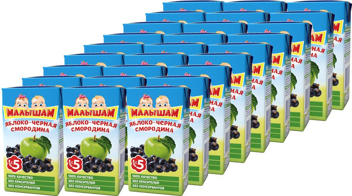 ФрутоНяня Малышам нектар из яблок и черной смородины с 5 месяцев, 27 шт по 125 мл фрутоняня малышам пюре из яблок с 4 месяцев 27 шт по 125 г
