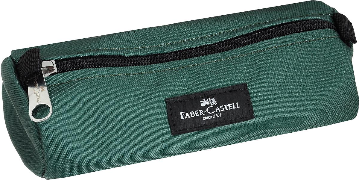 Faber-Castell Пенал прямоугольный цвет зеленый пенал faber castell 191802