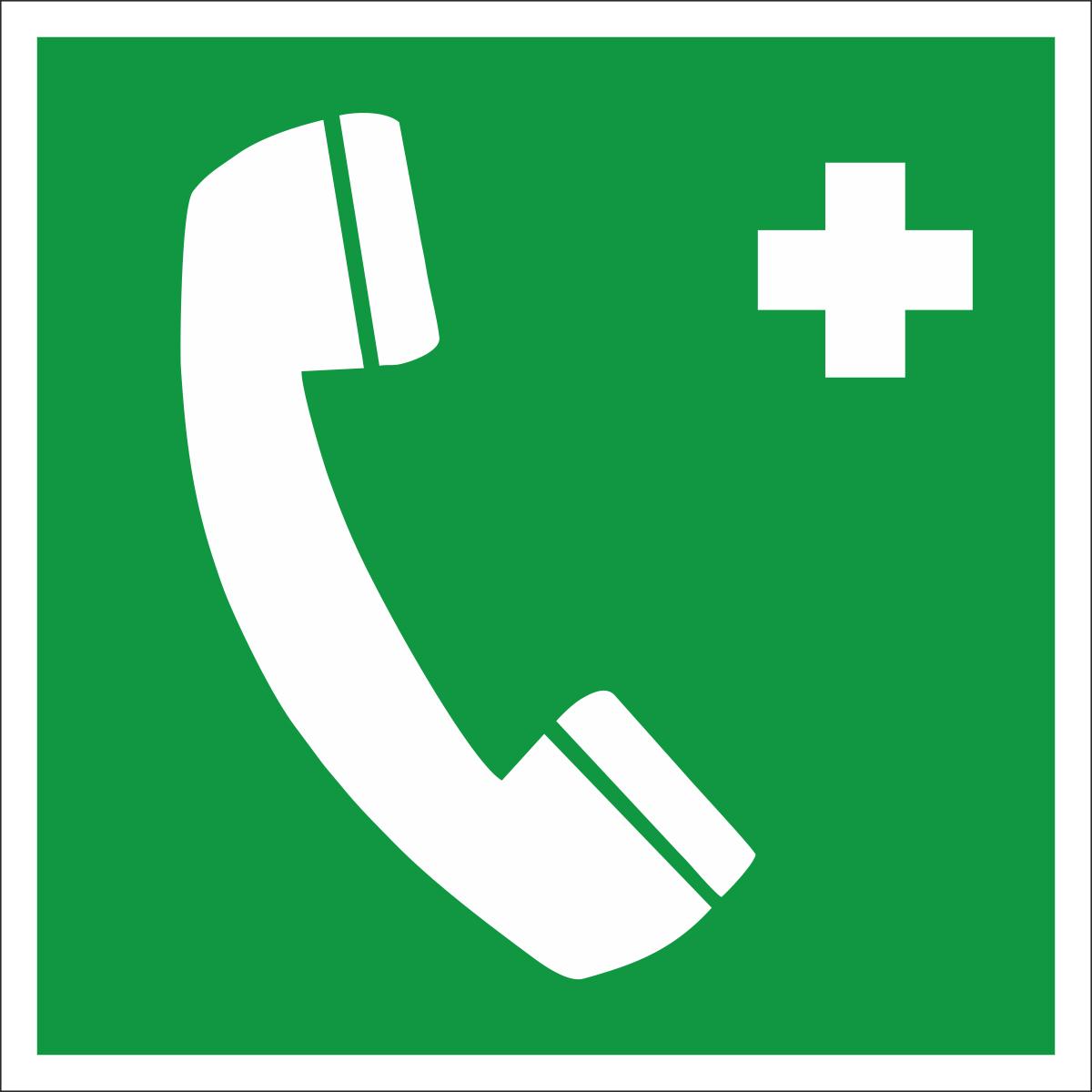 Наклейка информационная Оранжевый Слоник Телефон связи с медицинским пунктом, 15 х 15 смINM005RGBИнформационные наклейки предназначенны для предупреждения людей о непосредственной или возможной опасности, запрещения, предписания или разрешения определенных действий, а также для информации о расположении объектов и средств, использование которых ислючает или снижает воздействие опасных и (или) вредных факторов.
