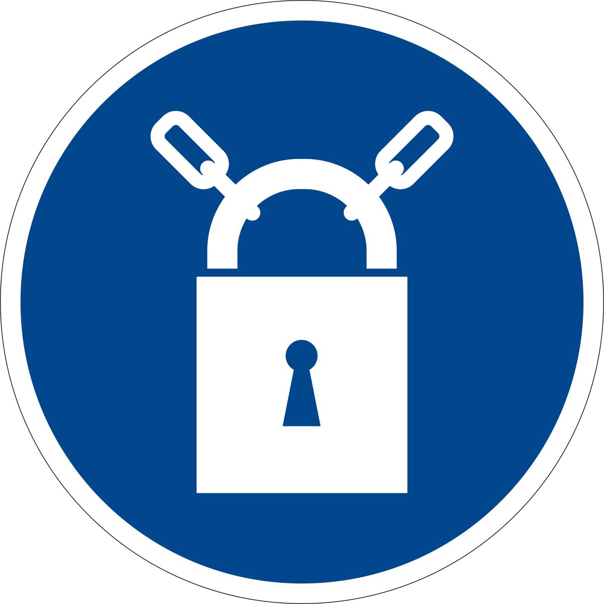 Наклейка информационная Оранжевый Слоник Закрывать на замок, 15 х 15 смINR001RGBИнформационные наклейки предназначенны для предупреждения людей о непосредственной или возможной опасности, запрещения, предписания или разрешения определенных действий, а также для информации о расположении объектов и средств, использование которых ислючает или снижает воздействие опасных и (или) вредных факторов.
