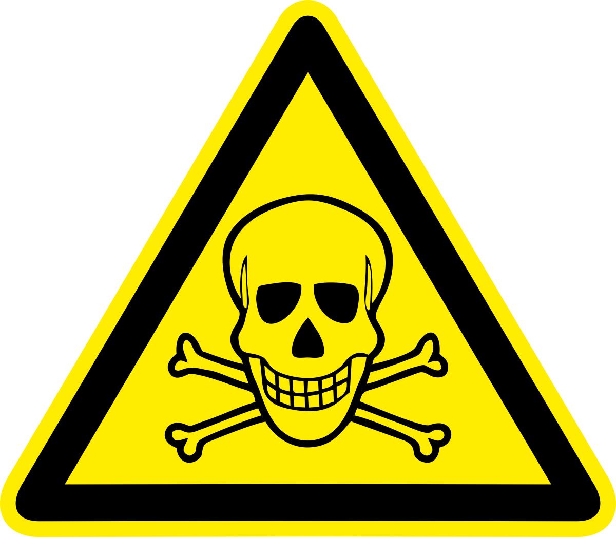 Наклейка информационная Оранжевый Слоник Опасно. Ядовитые вещества, 15 х 15 см оранжевый слоник виниловая наклейка баскет2