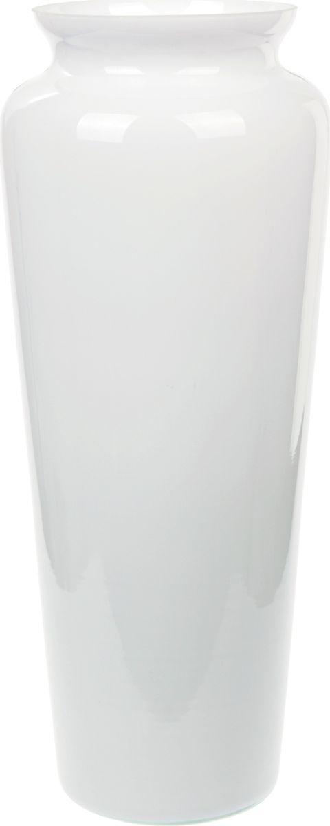 Ваза Nina Glass Диана, высота 38 см салатник nina glass ажур цвет сиреневый диаметр 16 см