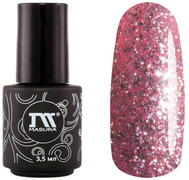 Masura Гель-лак Зимняя Малина, 3,5 мл294-379MСеребристый с розовым подтоном, насыщенный мерцающими инди-частицами, плотный