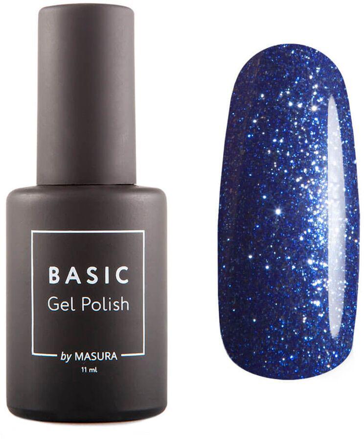 Masura Гель-лак BASIC Сапфировый Луч, 11 мл294-407SСверкающий синий, плотный