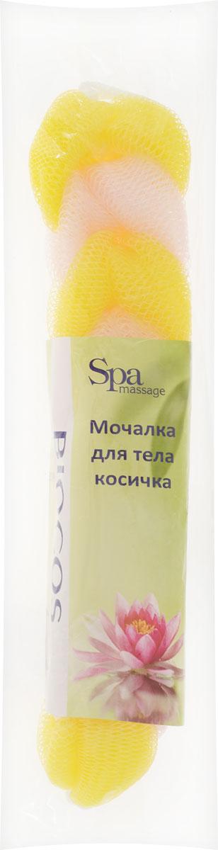 BioCos Мочалка для тела Косичка, цвет: желтый, розовый5955_желтый, розовыйМочалка для тела BioCos Косичка обладает тонизирующим эффектом. Подходит для ежедневного применения. Деликатно и нежно очищает кожу, легко вспенивает даже небольшое количество геля или мыла. Обладает приятным отшелушивающим эффектом, мочалка массирует кожу, снимая усталость и напряжение. Служит долго, сохраняя свою первоначальную форму.Перед использованием размочить в горячей воде. После применения тщательно промыть под струей воды и высушить.Состав: безузловая сетка.