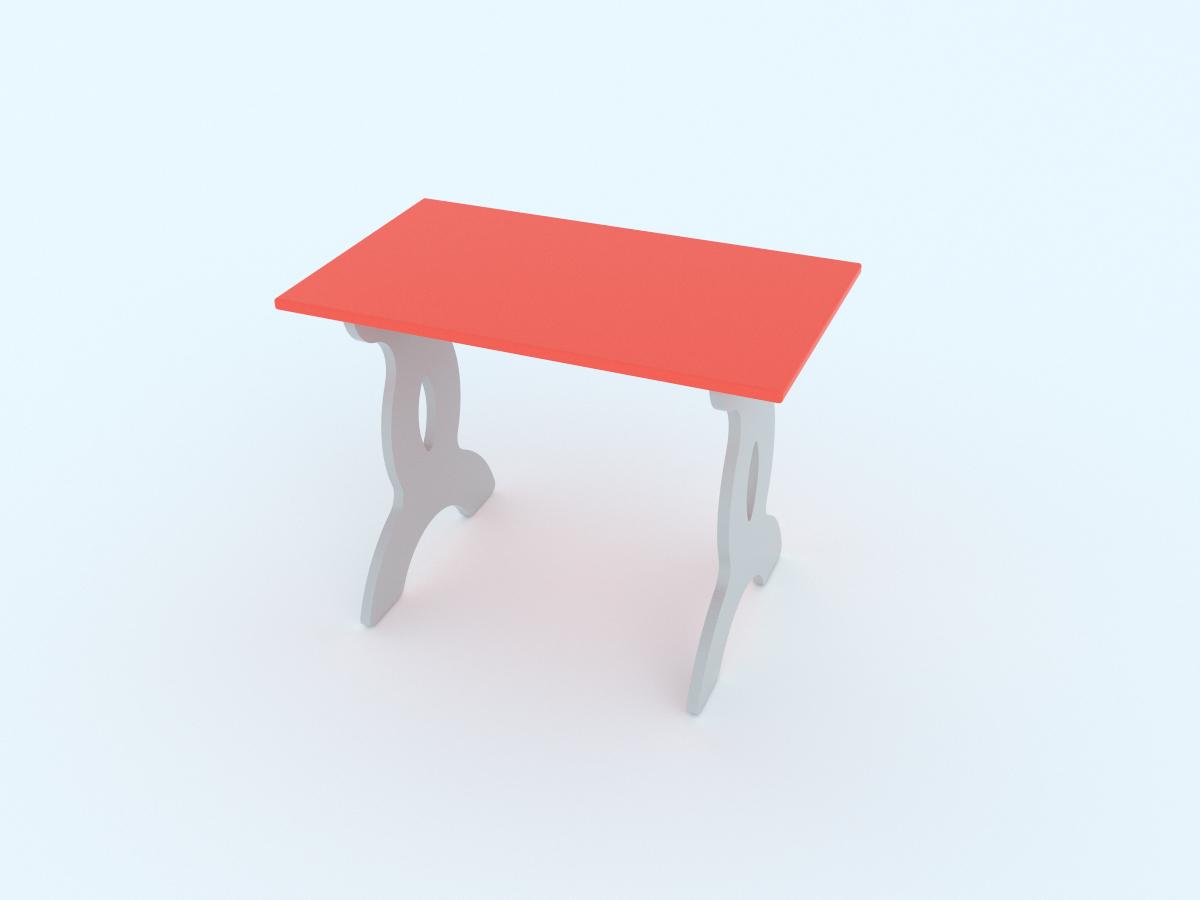 Малина Стол детский Чудо-столик цвет розовый -  Детская комната