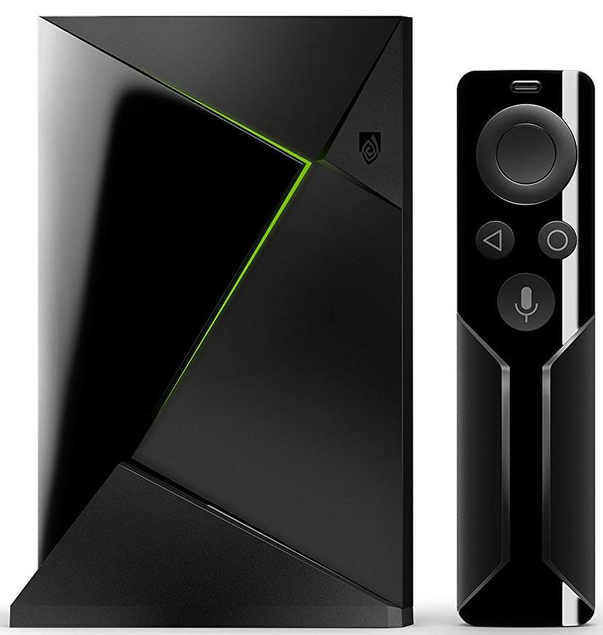 NVIDIA Shield Android TV, Black игровая консоль945-12897-2505-001NVIDIA SHIELD - невероятно мощный медиаплеер. Быстрое и плавное воспроизведение 4K видео с поддержкой HDR. Бесконечное множество игр и развлекательных приложений. Игровой процесс на суперкомпьютерах NVIDIA из облака или со своего ПК. Возможность голосового управления любыми приложениями. Все, что вам нужно, - в одном революционном устройстве.Фильмы и телесериалы воспроизводятся с невероятным уровнем детализации. Просмотр спортивных передач создает ощущение, что вы присутствуете на матче. Разрешение 4K HDR обеспечивает невероятно реалистичное качество изображения, которое до 4-х раз четче, чем на HD телевизорах предыдущего поколения, и имеет в два раза более широкий цветовой спектр. Поддержка технологии HDR означает, что вы видите на экране больше цветов и деталей. Вы получаете более яркую картинку с реалистичной пространственной глубиной. Встроенный голосовой поиск Google позволяет с легкостью выполнить необходимые действия. Все, что вам нужно сделать, - это попросить SHIELD найти нужное приложение, игру или видео. Больше не нужно печатать. Мгновенно получайте результаты из Netflix, YouTube, Spotify, каталога игр NVIDIA и других ресурсов. Вы даже можете попросить Покажи мне лучшие фильмы о спорте или популярные фильмы, и SHIELD выполнит вашу команду. Это тот же голосовой поиск, только еще умнее. Откройте для себя самый быстрый и высококачественный стриминг фильмов, сериалов и игр. Он осуществляется на основе NVIDIA Tegra X1, самого продвинутого мобильного процесса NVIDIA из когда-либо созданных. Просто произнесите команду, и SHIELD все сделает за вас. Вы можете мгновенно включить любимую музыку, открыть нужное приложение, узнать необходимую информацию, новости, результаты соревнований, прогноз погоды и многое другое. И это только начало.