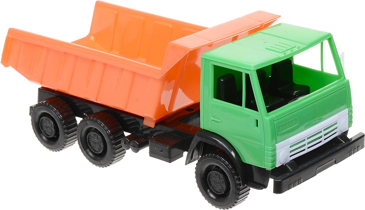 Орион Самосвал 320 цвет зеленый оранжевый черный