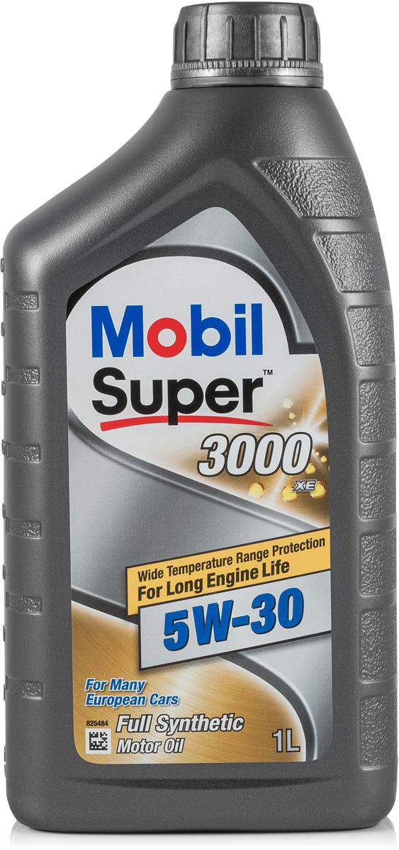 Моторное масло Mobil Super 3000 XE, 5W-30, 1 л152574Mobil Super (ТМ) 3000 XE 5W-30 - синтетическое малозольное моторное масло, разработанное с целью продления срока службы и сохранения эффективности систем снижения выбросов вредных веществ с выхлопными газами автомобилей как с дизельными, так и с бензиновыми двигателями.• Обеспечивает работу при повышенной температуре без загущения от окисления и без разложения масла • Обеспечивает легкость запуска и быструю циркуляцию масла в двигателе в зимних условиях • Пригодно для применения в бензиновых или дизельных двигателях легковых и малотоннажных грузовых автомобилейСертификации и одобрения -ACEA C3 -Ford WSS-M2C917-A-General Motors (сервисное обслуживание) dexos2 (license number GB1A0914015) -BMW Longlife 04 -MB-Approval 229.31 / 229.51 / 229.52 -Volkswagen 502 00 / 505 00 / 505 01