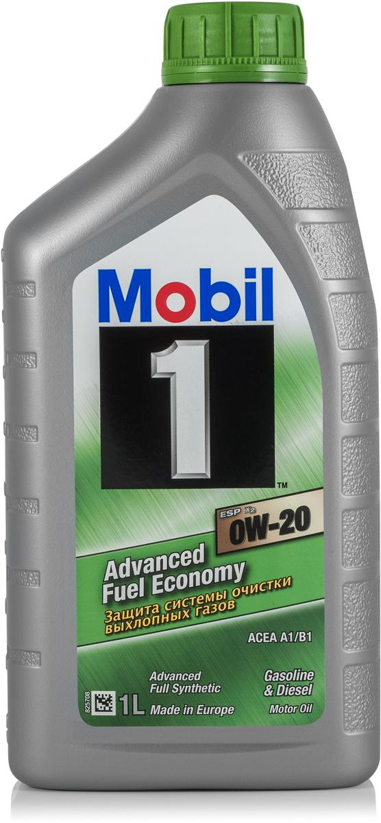 Моторное масло Mobil 1 ESP x2, 0W-20, 1 л153790Mobil 1ESP x2 0W-20 - защита системы очистки выхлопных газов и экономия топливаMobil 1 (ТМ) ESP x2 0W-20 - полностью синтетическое моторное масло, разработанное для продления срока службы и поддержания эффективности систем снижения токсичности выхлопных газов новых европейских автомобилей с дизельными и бензиновыми двигателями, в которых требуется применение масел класса вязкости SAE 0W-20. • Обеспечивает отличную термическую и окислительную стабильность • Обеспечивает выдающиеся показатели чистоты двигателя и снижения образования отложений • Обеспечивает отличную защиту при высоких температурах на протяжении всего срока службы масла • Обеспечивает быстрый выход на рабочий режим в условиях пониженной температурыСертификации и одобрения -ACEA A1 / B1 -Volkswagen 508 00 / 509 00 -Porsche C20 -MB-Approval 229.71 -Jaguar Land Rover STJLR.51.5122