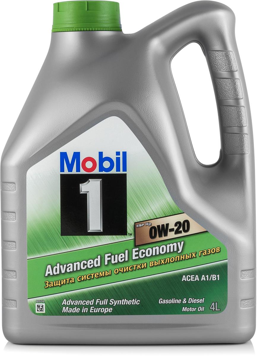 Моторное масло Mobil 1 ESP x2, 0W-20, 4 л153791Mobil 1ESP x2 0W-20 - защита системы очистки выхлопных газов и экономия топливаMobil 1 (ТМ) ESP x2 0W-20 - полностью синтетическое моторное масло, разработанное для продления срока службы и поддержания эффективности систем снижения токсичности выхлопных газов новых европейских автомобилей с дизельными и бензиновыми двигателями, в которых требуется применение масел класса вязкости SAE 0W-20. • Обеспечивает отличную термическую и окислительную стабильность • Обеспечивает выдающиеся показатели чистоты двигателя и снижения образования отложений • Обеспечивает отличную защиту при высоких температурах на протяжении всего срока службы масла • Обеспечивает быстрый выход на рабочий режим в условиях пониженной температурыСертификации и одобрения -ACEA A1 / B1 -Volkswagen 508 00 / 509 00 -Porsche C20 -MB-Approval 229.71 -Jaguar Land Rover STJLR.51.5122